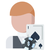 Online Casino Blackjack - Händler Kombinationen