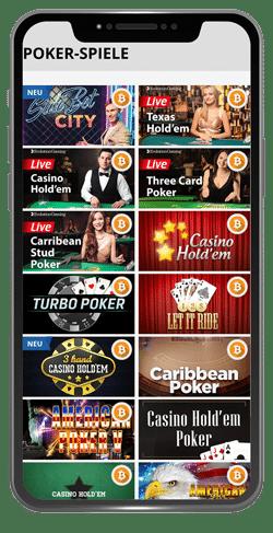 mobile casino poker spiele