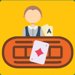 Live Poker mit Dealer