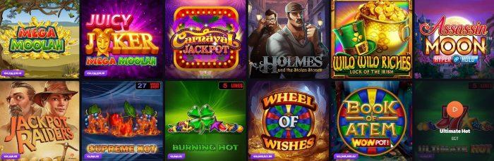 Jackpot Spiele SlotHunter
