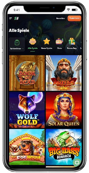 Mobile Casino SlotHunter
